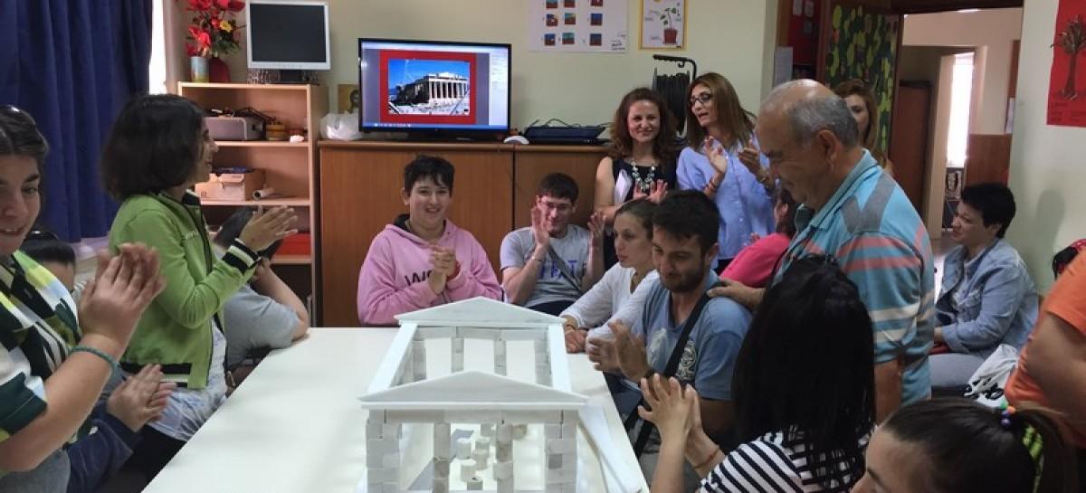 Παρουσίαση στο Ειδικό Γυμνάσιο Κιλκίς των μνημείων της Ακρόπολης 11/6/2015