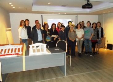 Παρουσίαση σε καθηγητές  Ειδικών Σχολείων οκτώ ευρωπαϊκών κρατών